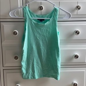 Gap Kids Teal Tank Top Size 10